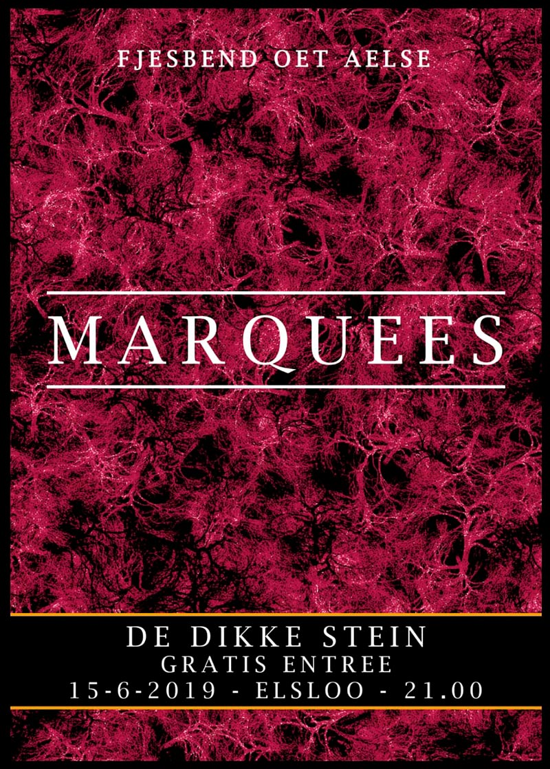 Dikke-Stein-Marquees-2019-poster